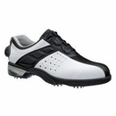Footjoy Golf- Reelfit Golf Shoes (#53791) **White/Black Size 9.5 Medium Only**