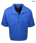 Forrester Golf- Short Sleeve Zip Pullover
