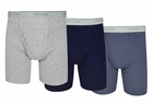 Fruit of the Loom 3-Pack Assorted Boxer Briefs
