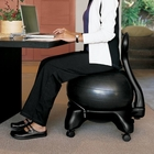 Gaiam- Black Balance Ball Chair