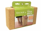Gaiam- Cork Yoga Brick