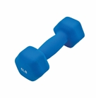 GoFit- Neoprene Dumbbell 5lb Blue
