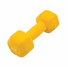 GoFit- Neoprene Dumbbell 8lb Yellow