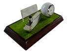 Golfer's Desk Clock