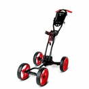 GolferPal Golf- EasyPal Power Folding Push Cart