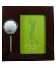 Golfers Wood Photo Frame 4x6