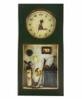 Green Golf Clock