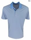 Greg Norman Golf- Bar Stripe Polo