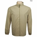 Greg Norman Golf- Brushed Poly Full Zip Jacket