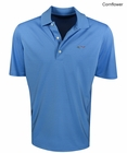 Greg Norman Golf- Tone-on-Tone Patterned Polo