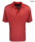 Greg Norman Golf- Fine Line Stripe Polo