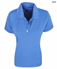 Greg Norman Golf- Ladies Performance Play Dry Solid Polo