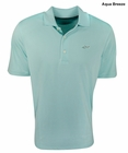 Greg Norman Golf- Luxury Contrast Placket Polo