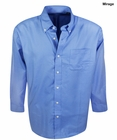 Greg Norman Golf- Mini Plaid Woven Shirt