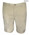 Greg Norman Golf- Natural Performance Flat Front Shorts