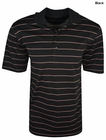 Greg Norman Golf- Performance Play Dry Jersey Stripe Polo