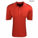 Greg Norman Golf- Performance Play Dry Piped Solid Polo