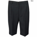 Greg Norman Golf- Single Pleat Windowpane Shorts