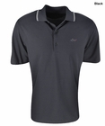 Greg Norman Golf- Solid Pique Polo