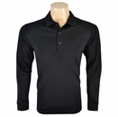 Greg Norman Golf-  Sorbtek Long Sleeve Pieced Polo