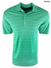 Greg Norman Golf- Striped Front Polo Shirt