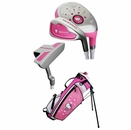 Hello Kitty Golf Junior 5-Piece Set With Bag Ages 3-5