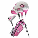 Hello Kitty Golf- Junior 8-Piece Set With Bag Ages 6-8