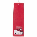 Hello Kitty Golf Tri-Fold Towel