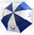 "Hot-Z Golf US Air Force Military 62"" Double Canopy Umbrella"