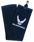 Hot-Z Golf US Air Force Military Tri Fold Towel
