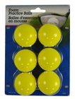 Intech Golf Practice Balls 6-Pack Yellow