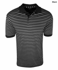 Izod Golf- Classic Jersey Stripe Performance Polo