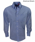 Izod- Long Sleeve Solid Woven Shirt