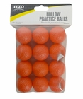 Izzo Golf Hollow Practice Balls 12-Pack
