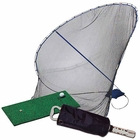 Izzo Golf- Home On The Range Training Bundle (Contains Net, Mat & Shagger!)