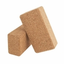 "Jasmine Fitness- Cork Yoga Blocks 9"" x 6"" x 3"""