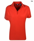 Jockey- Ladies Tipped Cotton Polo