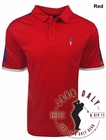 John Daly Golf- Contrast Shoulder Performance Polo