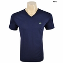 Lacoste- Short Sleeve Pima Jersey V-Neck T-Shirt