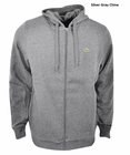 Lacoste- Full Zip Hoodie Fleece Sweatshirt