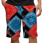Loudmouth Golf- Bandana Shorts