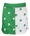 Loudmouth Golf- Ladies Embroided Shamrocks II Skort
