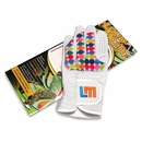 Loudmouth Golf - LLH Disco Balls White Golf Glove