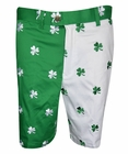 Loudmouth Golf- Mens Shamrock II Embroidered Shorts