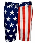 Loudmouth Golf- Mens Stars & Stripes Shorts