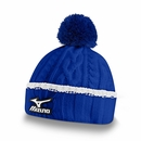 Mizuno Golf- Cable Knit Bobble Hat