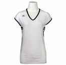 Mizuno- Ladies Sublimation Fitness Cap Sleeve Top