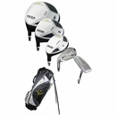 Nicklaus Golf- LH Mega CRV Complete Set With Bag Graphite/Steel (Left Handed)