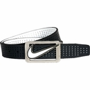 Nike Golf- Square Plaque Perforated Reversible Belt