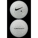 Nike Golf- One Black Mint Used/Refinished Golf Balls *3-Dozen*
